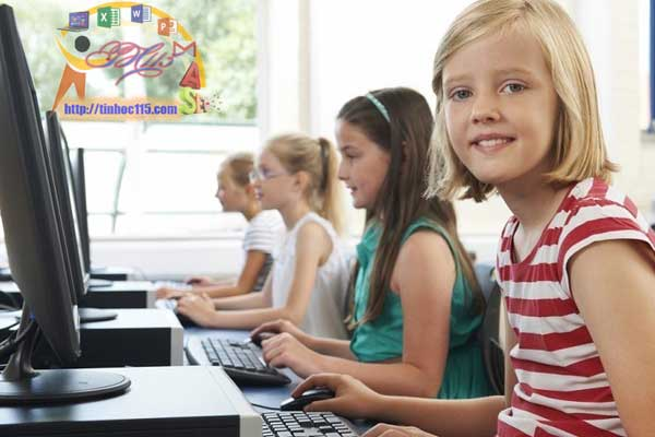 Dạy tin học cho trẻ em tiểu học tại thái nguyên